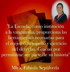 Imagen Opinión Alumnos Fabiola Sepúlveda