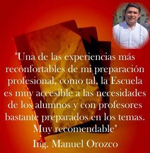 Imagen Opinión Alumnos Manuel Orozco